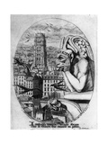 Le Stryge, C1841-1868 Giclee Print by Charles Meryon