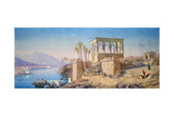 Philae, Egypt, 1863 Giclee Print by Charles Emile De Tournemine