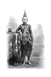 Cambojan, Eldest Son of Narodom, 1895 Giclee Print by Charles Barbant