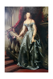 Portrait of the Grand Duchess Olga Nikolaevna, 1841 Giclee Print by Christina Robertson