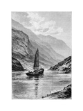 The Upper Yangtze River, China, 1895 Giclee Print by Charles Barbant