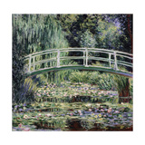 White Water Lilies, 1899 Giclee Print by Claude Monet