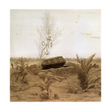 At the Edge of the Grave, 1830S Giclee Print by Caspar David Friedrich