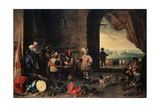 The Guardroom, 1642 Giclee Print by David Teniers the Younger