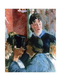 Corner of a Cafe Concert, Detail, 1878-1880 Giclee Print by Edouard Manet