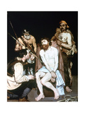 The Mocking of Christ, 1885 Giclee Print by Edouard Manet