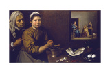 Christ in the House of Mary and Martha, C1618-1622 Giclee Print by Diego Velasquez