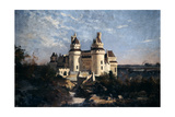 Pierrefonds, 1868 Giclee Print by Emmanuel Lansyer