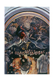 The Burial of Count Orgaz' (Detail), 1586-1588 Giclee Print by  El Greco