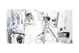 Street Scene, (C1850-C1883) Giclee Print by Edouard Manet