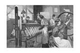 Spitalfields Silk Weavers, 1893 Giclee Print by Enoch Ward