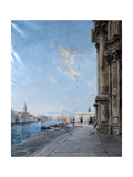 View from the Church of Madonna Della Salute, 1892 Giclee Print by Emmanuel Lansyer