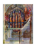 The Warriors' Chapel, Canterbury Cathedral, Kent, 1924-1926 Giclee Print by EC Boon