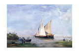 The Banks of the Nile, 1874 Giclee Print by Eugene Fromentin