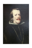 Portrait of Philip IV of Spain, C1656-C1660 Giclee Print by Diego Velasquez