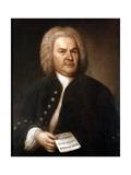 Johann Sebastian Bach (1685-175), German Composer and Organist, 1746 Giclée-tryk af Elias Gottlob Haussmann