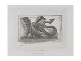 Sign of the Green Dragon Inn, Bishopsgate, London, 1871 Giclee Print by E Edwards