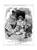 The Pilgrim's Rest, Caricature Af Paul Kruger, South African Politician, 1900 Giclee Print by Edward Linley Sambourne