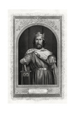 Charlemagne, King of the Franks, 1875 Giclee Print by DJ Pound
