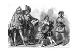 A Scene from the Babes in the Wood, at Covent Garden Theatre, London, 1875 Giclee Print by David Henry Friston