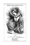 Oscar Wilde, Irish Playwright, Novelist, Poet and Wit, 1881 Giclee Print by Edward Linley Sambourne