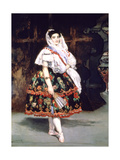 Lola De Valence, 1862 Giclee Print by Edouard Manet