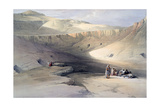 Entrance to the Tombs of the Kings of Thebes, Bab-El-Malouk, 19th Century Giclee Print by David Roberts