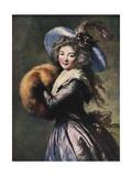 Madame Mole-Reymond, 1786 Giclee Print by Elisabeth Louise Vigee-LeBrun