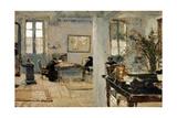 In a Room, 1899 Giclee Print by Edouard Vuillard