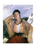 Gypsy with Cigarette, 1862 Giclee Print by Edouard Manet