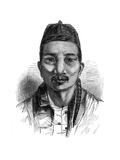 Ko-Tsching Dschang, 1848 Giclee Print by Ebenezer Landells