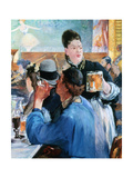 Corner of a Cafe Concert, 1878-1880 Giclee Print by Edouard Manet