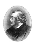 Norman Macleod, 19th Century Scottish Theologian, Author and Social Reformer Giclee Print by Elliott & Fry
