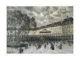 Place De Vosges, Paris, Day of a Concert, Late 19Th/Early 20th Century Giclee Print by Frank Myers Boggs