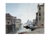 Gondola on the Grand Canal, 1892 Giclee Print by Emmanuel Lansyer