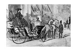 Going for a Drive, 19th Century Giclee Print by Constantin Guys