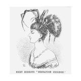 Next Hideous Sensation Chignon, 1867 Giclee Print by Edward Linley Sambourne
