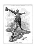 The Rhodes Colossus, 1892 Giclee Print by Edward Linley Sambourne
