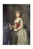 Portrait of the Grand Duchess Elizabeth Alexeyevna, 1795 Giclee Print by Elisabeth Louise Vigee-LeBrun