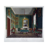 Interior View of the Green Closet in Buckingham House, Westminster, London, 1819 Giclee Print by Daniel Havell