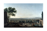 The City and Roads of Toulon, France, 1756 Giclée-Druck von Claude-Joseph Vernet