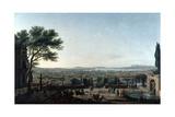 The City and Roads of Toulon, France, 1756 Giclée-Druck von Claude-Joseph Vernet