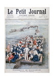 Events in Madagascar: the Repatriation of French Troops, 1896 Giclee Print by F Meaulle