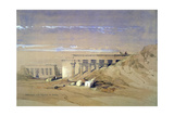 Lateral View of the Temple Called Typhonaeum at Dendera, Egypt, 19th Century Giclee Print by David Roberts