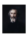Self Portrait of the Artist Emmanuel Lansyer, 19th Century Giclee Print by Emmanuel Lansyer