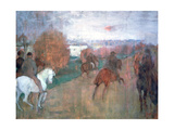 Horse Riders, 1864-1868 Giclee Print by Edgar Degas