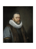 Sir Clement Edmondes, 17th Century Giclee Print by Daniel Mytens