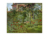 The Garden at Bellevue, 1880 Giclee Print by Edouard Manet