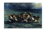 The Shipwreck of Don Juan, 1840 Reproduction procédé giclée par Eugène Delacroix
