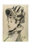 Madame Jules Guillemet, C1880 Giclee Print by Edouard Manet